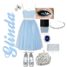 Wicked - Glinda Inspired Outfit, created by naomiclarke95 on Polyvore