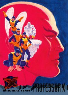 BENDIS!, Original x-men cards by John Romita Sr. X-Men #xmen