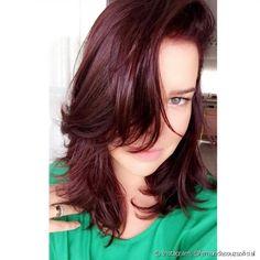 Marsala Hair 2019 ⇒ Farbe, Kombinationen und Farbstoffe (Rot, Wein) Para when cacheadas ourite crespas, Red Hair Color, Grunge Hair, New Hair, Curly Hair Styles, Hair Cuts, Hair Beauty, Pretty, Lany, Blondes