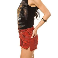 Free people red shorts nwt Host Pick  Nwt Free people sunrise red shorts Free People Shorts