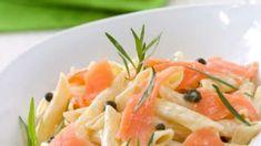 Penne al salmone, pistacchi e noci
