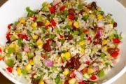 Easy Rice Salad Recipes is One Of the Liked Salad Recipes Of Several Persons Round the World. Besides Easy to Produce and Great Taste, This Easy Rice Salad Recipes Also Health Indeed. Rice Salad Recipes, Healthy Salad Recipes, Raw Food Recipes, Cooking Recipes, Cat Recipes, Sauce Recipes, Healthy Meals, Free Recipes, Chicken Recipes
