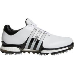 0d64518d0 Adidas Men s Tour 360 2.0 Golf Shoes White Black - Men s Golf Shoes at  Academy Sports