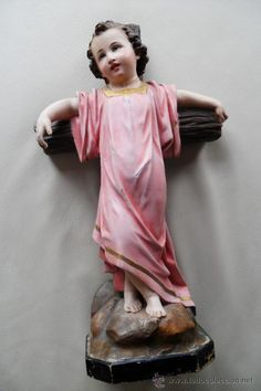 PRECIOSO NIÑO JESUS,  OLOT SIGLO XIX