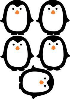 Free Printable Penguin Photo Booth Props Printrable Pinterest