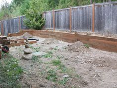 Let's look no further! This is it :) Thanks Paige for this pic of our new retaining wall. @Paige Hereford Hill