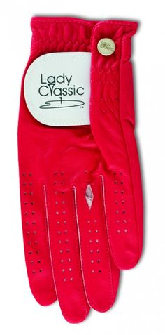 Slam Glam - Lady Classic Red Ring Ladies Golf Glove, $16.50 (http://www.slamglam.com/lady-classic-red-ring-golf-glove/) You'll never have to worry about the rips or tears occurring when you wear your ring with our gloves.
