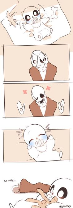 Sans and gaster Ps.sooooo kawaiiiiiii >////< <<< I AGREE!!- TAKE MY HEART AND MONEY FOR THIS!!!