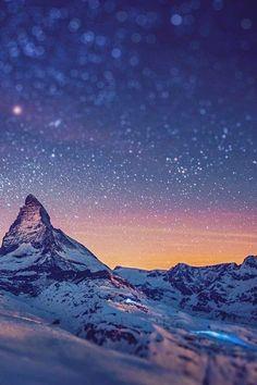 Mount Matterhorn, Zermatt, Swiss Alps.
