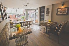 Pom's Kitchen & Deli - Restaurant Interiors/ Deli Interiors / Open kitchen/ Cafe Interior -  Sacha Interiors