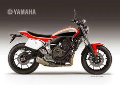 Racing Cafè: Design Corner - Yamaha MT-07 Street Tracker Concept by Oberdan Bezzi