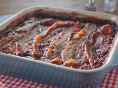 Mary's Baked Beans recipe from Trisha's Southern Kitchen via Food Network