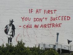 Street artists such as Banksy and Fairey are often political activists and social reformers, using their artistic talents to provide political and social . Street Art Banksy, Banksy Art, Bansky, Outdoor Sculpture, Outdoor Art, Stencilling Techniques, Banksy Prints, Political Art, Film Director