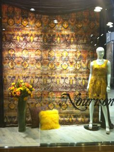 This fall 2012 it's all about yellow & grey! #Nourison rugs and textiles www.facebook.com/... #hpmkt