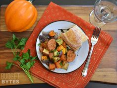 Oven Roasted Autumn Medley - So. Stinking. DELICIOUS. It's a fall party in your mouth.