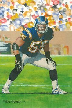 JUNIOR SEAU UNSIGNED 2015 SERIES GOAL LINE ART CARD SAN DIEGO CHARGERS | eBay!