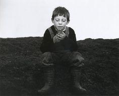 Chris Killip  Rocker and a Toad  Seacoal Beach, Lynemouth, Northumberland, UK, 1983  From Chris Killip (55 Series)
