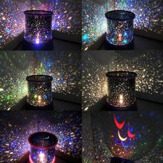 LED Starry Sky Projection Lamp Night Light Moon Star Master Halloween Christmas Gifts for Kids. User-Friendly: The night light might be great gadget for infants, kids or teenagers, but it's also wonderful for adults who love gorgeous starry sky. Starry Night Light, Led Night Light, Night Lights, Light Led, Light Bulb, Night Lamps, Night Light Projector, Projector Lamp, Bedroom Projector