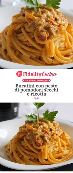 Lombardy - The Other Side of Italian Food Pasta Al Pesto, Ricotta Pasta, Vegetarian Recipes, Healthy Recipes, Italian Pasta, Italian Recipes, Italian Entrees, Pasta Recipes, Spaghetti