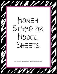 Money Stamp or Model Sheet {$}