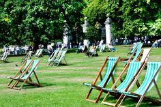 Deckchairs at Green Park, London via http://townfish.com. Follow us: http://twitter.com/townfish_london