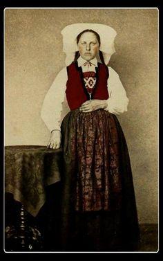 Folk Costume, Costumes, Folklore, Norway, Scandinavian, Europe, People, Dresses, Fashion