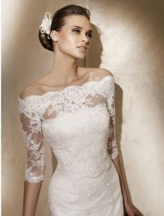This Is A Ovias Lace Jacket Worn Over Any Gown I Loves It