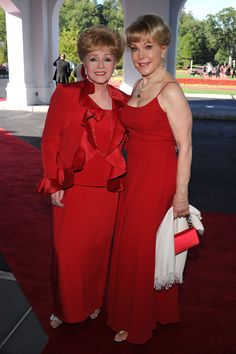 Barbara Eden and Debbie Reynolds - Grand Opening Of The Casino Club At The Greenbrier Resort, WV