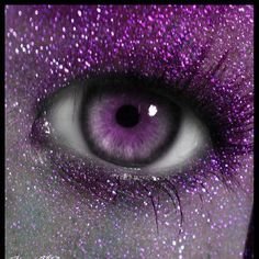 When will these make way for genetic enhancements that give us Liz Taylor violet eyes? Purple Love, All Things Purple, Purple Lilac, Purple Glitter, Shades Of Purple, Glitter Eye, Purple Stuff, Purple Colors, Glitter Makeup