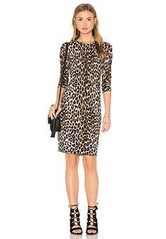 Equipment Marla Cheetah Print Sweater Dress in Natural   REVOLVE
