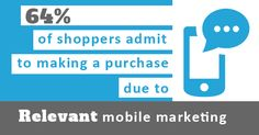 Relevant Mobile marketing is essential for influencing purchasing decisions Marketing Opportunities, Customer Engagement, Mobile Marketing, Wifi, Campaign, Business