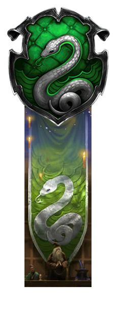 Pottermore Slytherin Bookmark by CharmazingMe.deviantart.com on @DeviantArt