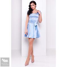 Платье Modus «Фелличита атлас коттон» (Голубой) http://lnk.al/4arV  #лук #нарядныеплатья #платье #платьемечты #топ #новинки #одеждаУкраина #4m #4m.com.ua