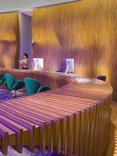 Hotel Indigo Shanghai on the Bund, interior designed by HBA/Hirsch Bedner Associates