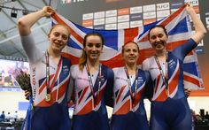 British women's team pursuit quartet complete blow away Italy in final to win Track World Cup gold in Manchester