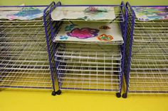 paint rack kids paints - Google Search