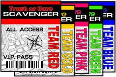 Have You Heard: Teen Party Ideas- Scavenger Hunts, Amazing Race & More: Ages 13-15