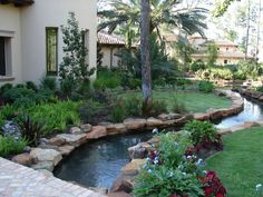 Lazy River Pool On Home Ideas 30 image is part of Amazing Lazy River Pool Ideas That Should You Make in Home Backyard gallery, you can read and see another amazing image Amazing Lazy River Pool Ideas That Should You Make in Home Backyard on website Lazy River Pool, Backyard Lazy River, Swimming Pool Designs, Swimming Pools, Natural Backyard Pools, Landscape Architecture Design, House On The Rock, Dream Pools, Backyard For Kids