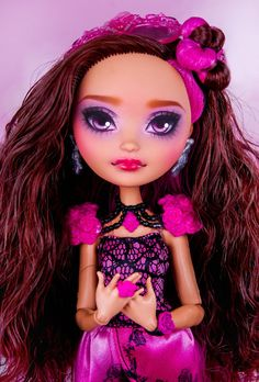 Custom Ever After High Repaint Briar Beauty