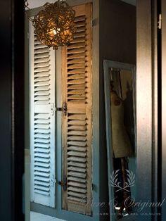 Kalkverf. Locatie N-Styling. www.pure-original.com. Fotografie Sarah van Hove. Gepubliceerd in Wonen Landelijke stijl