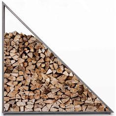 Nero Firewood Storage, Gunmetal – High Fashion Home Firewood Stand, Outdoor Firewood Rack, Firewood Holder, Firewood Storage, Log Store Indoor, Indoor Log Storage, Back Porch Designs, Diy Log Cabin, Small Cabin Interiors