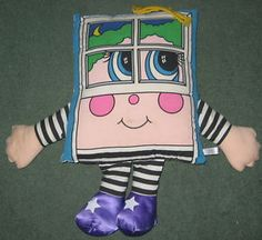I guess this would be the 80's version of pillow pets! I loved my pillow person back in the day!