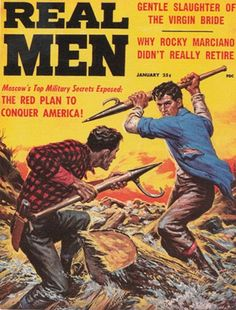 Men Adventure Magazines Covers | Weasels Ripped My Flesh! Vintage Men's Adventure Magazines