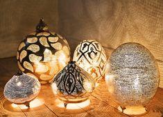 orientalische lampen ovales design leuchten