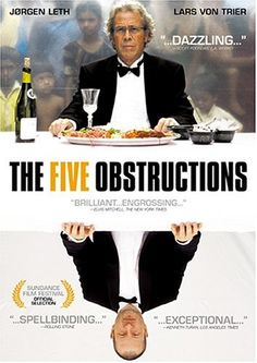 The Five Obstructions (documentary) - Everyone, not only artists, should watch this movie to see what can be achieved or not achieved through given rules.  I think it can give one a better understanding of the balance of life.  How many guidelines is too many?  How much of my project is planned ahead?  How much of my project is a collaboration?  Can I remake someone else's work or only my own?  How important is a 1-on-1 planning discussion?