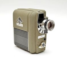 EUMIG Electric Double-8 film Cine Camera Mid Century Vintage by vtgwoo on Etsy