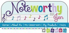 Noteworthy By Jen--A blog for elementary music ideas