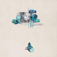Scrap Pack: September - Just Because Studio - Girl in Blue http://scrapstacks.com/scrappack/downloads/scrap-pack-september/