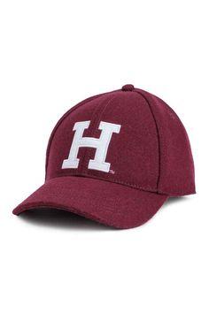 Wool-blend cap - Burgundy - Ladies | H&M 1