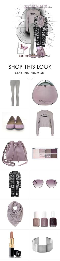 """""""casual"""" by ntina36 ❤ liked on Polyvore featuring MiH Jeans, Davidoff, J.Crew, Topshop, Rebecca Minkoff, Nümph, BCBGMAXAZRIA, BeckSöndergaard, Essie and Chanel"""